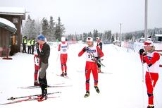 Overgangen fra junior til senior er utfordrende for mange. Nå etableres Team NTG 20 som et ledd i å hjelpe løperne på veien. Foto: Geir Nilsen/Langrenn.com.