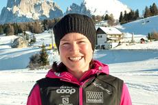 Jenny Grip (tidligere Hansson) blir ny sjef for Årefjällsloppet. Her fotografert på samling i Seiser Alm ved inngangen til 2013. Foto: Petter Soleng Skinstad/Langrenn.com.