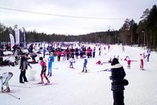 Illustrasjonsbilde fra Eiker Skifestival. Arrangørfoto.