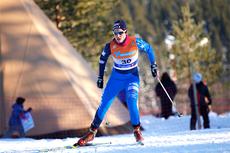 Astrid Bruland underveis i norgesmesterskapet på 10 km fristil på Gåsbu 2013. Foto: Rasmus Kongsøre/Langrenn.com.