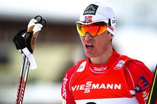 Ola Vigen Hattestad endte på en 9.-plass i den klassiske sprinten under VM i Val di Fiemme 2013. Foto: Laiho/NordicFocus