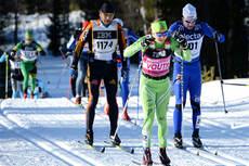 Laila Kveli på vei mot seier i Vasaloppet 2013. Foto: Rauschendorfer/NordicFocus.
