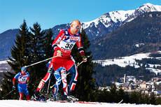 Tord Asle Gjerdalen ute på VM-løpet som endte med 6. plass på 50 km fellesstart i klassisk stil i Val di Fiemme 2013. Foto: Felgenhauer/NordicFocus.