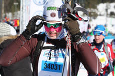 Amalie Olsen sikret seieren i UngdomsBirken i klassen for Jenter 15 år, 2013. Foto: Eirik Lund Røer/Birken.