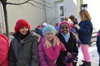 Elever ved Rolsløkken skole