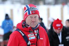 Roar Hjelmeset i forbindelse med den nasjonale sesongåpningen høsten 2012. Foto: Erik Borg,