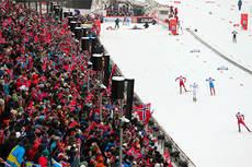 Illustrasjonsbilde fra verdenscupen i Holmenkollen 2013. Foto: Laiho/NordicFocus.