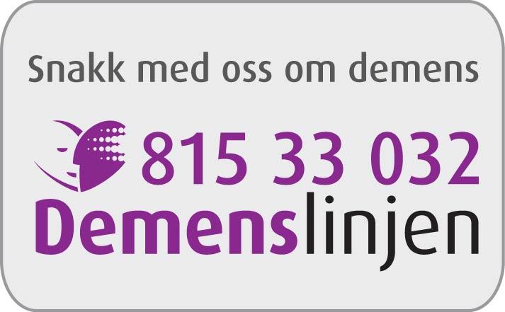 Snakk med demenslinjen  2011