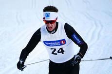 Anders Tettli Rennemo på 5-mila under NM på Budor 2013 - Et løp som bidro til at han ble årets NM-løper totalt. Foto: Erik Borg.