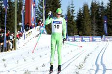 Simen Østensen gikk inn til NM-sølv på 5-mila 2013 på Budor. Foto: Erik Borg.