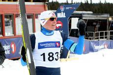 Torgeir Lid Byggland vant sprintfinalen i yngste klasse under NM på Budor 2013. Foto: Erik Borg.