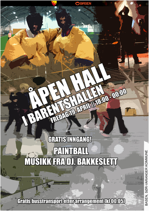 pen Hall april  2  