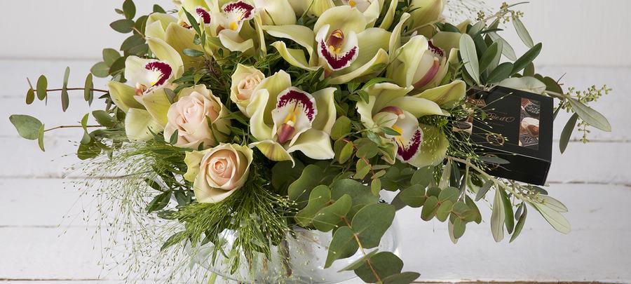 Blomster dekorasjon