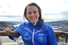 Barbro Kvåle. Foto: Lillehammer Skiklub.