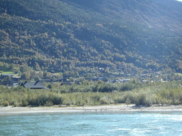 Bildet syner Ulstad bustadområde