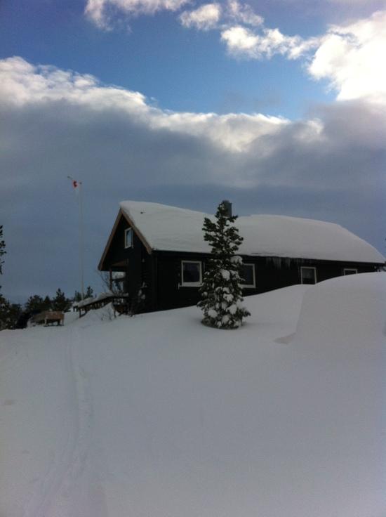 Røde Kors-hytta i Pølsdalen