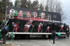 Norges nye smøretrailer fra sesongen 2013-2014. Foto: Erik Borg.