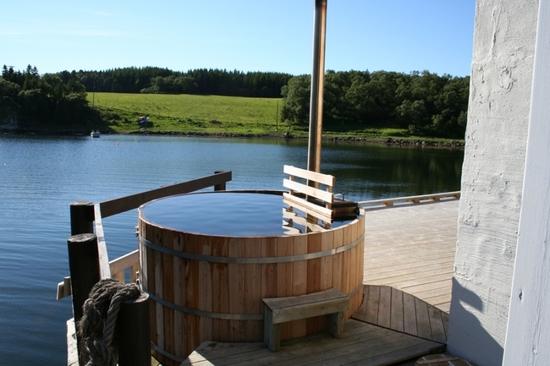 brygga dønna - badestamp
