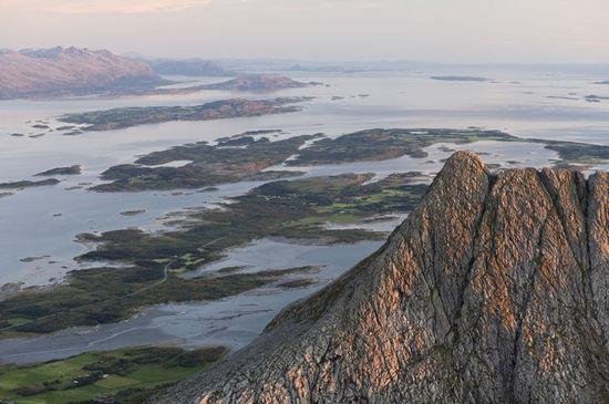 utsikt fra Kvasstinden