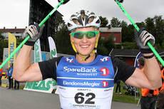 Aksel Rosenvinge viste styrke på sprinten i Aure under Toppidrettsveka 2013 sin 2. dag. Foto: Geir Nilsen/Langrenn.com.