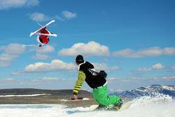 Ski på Juvass. Foto: Ove Nestvold