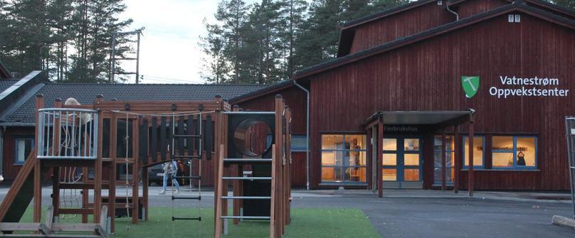 Vatnestrøm oppvekstsenter ble tatt i bruk høsten 2013