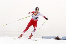 Katerina Smutna underveis i Tour de Ski sesongen 2012-2013. Foto: Felgenhauer/NordicFocus.