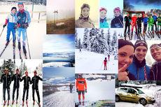 Bildecollage i miniatyr fra Langrennsbilder.com. Foto: Ulike lesere av Langrenn.com og brukere av Instagram.