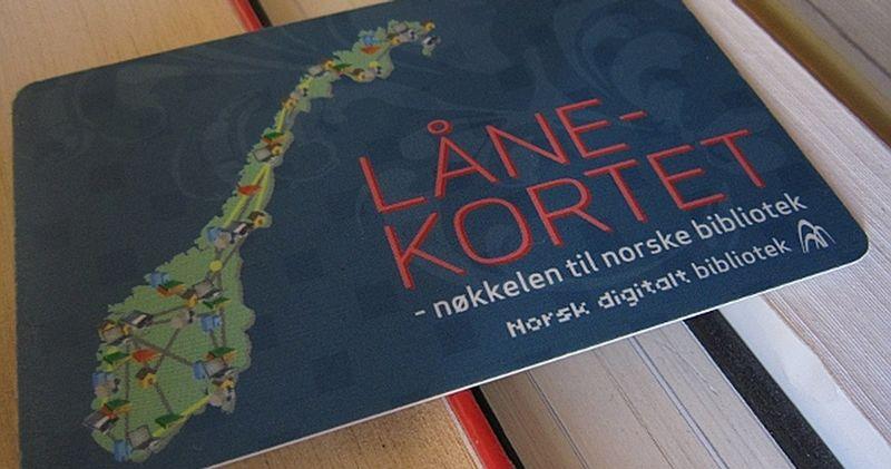 Nasjonalt lånekort - Nøkkelen til norske bibliotek