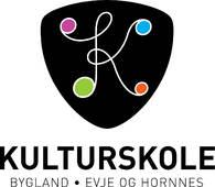 Logo Bygland, Evje og Hornnes kulturskole