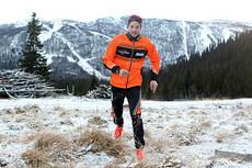 Ånund Lid Byggland er en mann som er både lett og rask på foten. Foto: Erik Borg.