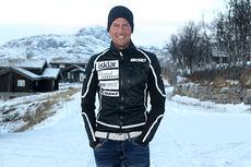 Chris Jespersen på Beitostølen i samband med sesongåpningen i Beitosprinten 2013. Foto: Erik Borg.