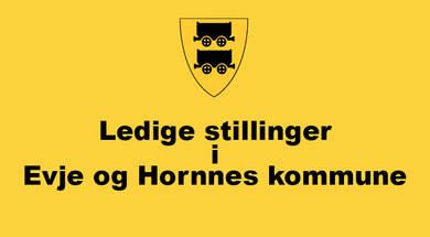 Ledige stillinger i Evje og Hornnes kommune