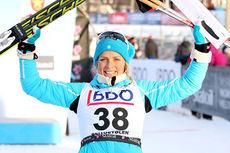 Therese Johaug gikk helt til topps i sesongens første renn i Beitosprinten 2013. Løypa i 10 km klassisk stil vant hun klart. Foto: Geir Nilsen/Langrenn.com.