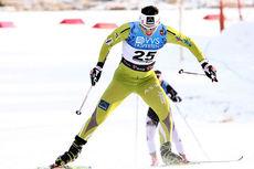 Marit Bjørgen koster på i den siste bakken opp mot stadion i Beitosprinten 2013. Foto: Geir Nilsen/Langrenn.com.