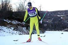 John Kristian Dahl på vei inn til en knallsterk 4.-plass på 15 kilometer fri under sesongåpningen på Beitostølen i fjor. Foto: Erik Borg.