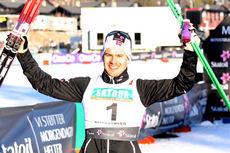 Sondre Turvoll Fossli vant som han ville i Beitosprintens sprint 2013. Foto: Geir Nilsen/Langrenn.com.
