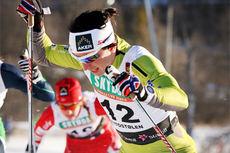 Marit Bjørgen på vei mot 4. plass i Beitosprintens sprintfinale 2013. Foto: Geir Nilsen/Langrenn.com.