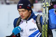Petter Northug jr. på Beitosprinten 2013. Foto: Geir Nilsen/Langrenn.com.