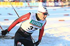 Marius Caspersen Falla gleder seg til en vinter med mange sprinter i fristil. Foto: Erik Borg.