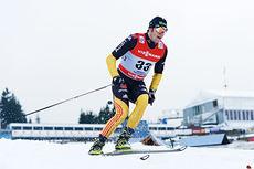 Franz Göring ute på oppstarts-prologen under Tour de Ski vinteren 2012-2013. Foto: Felgenhauer/NordicFocus.