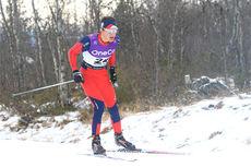 Hans Jørgen Kvåle ute på 15 km fristil i Beitosprinten 2013. Foto: Erik Borg.