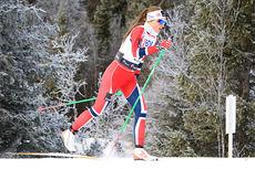 Martine Ek Hagen på 10 km klassisk i Beitosprinten 2013. Foto: Erik Borg.