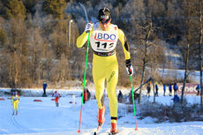 John Kristian Dahl ute på 15 km klassisk i Beitosprinten 2013. Foto: Erik Borg.
