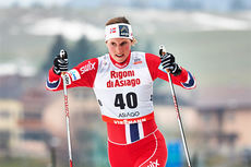 Kari Vikhagen Gjeitnes på verdenscupsprinten i Asiago i desember 2013. Foto: Felgenhauer/NordicFocus.