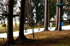Det var lite snø da verdenscupen ble arrangert siste helgen før jul 2013 i italienske Asiago. Falun-VM forbereder seg nå på det samme. Foto: Felgenhauer/NordicFocus.
