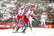 Martin Johnsrud Sundby på vei mot 3. plass under Tour de Ski sin 2. etappe i Oberhof sesongen 2013-2014. Foto: Felgenhauer/NordicFocus.