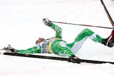 Simen Østensen ga alt på sin vei mot NM-gull på 15 kilometer klassisk under mesterskapet på Lillehammer i januar 2014. Foto: Geir Nilsen/Langrenn.com.