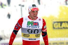Pål Golberg ble nummer seks på 15 kilometer klassisk under NM i Lillehammer 2014. Foto: Geir Nilsen/Langrenn.com.
