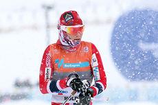 Det ble bronse til Heidi Weng i fellesstart med skibytte under NM del 1 i Lillehammer 2014. Foto: Geir Nilsen/Langrenn.com.